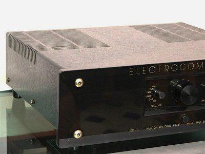 ampli integr electrocompaniet eci1 classe a 2x100w bernard billon. Black Bedroom Furniture Sets. Home Design Ideas