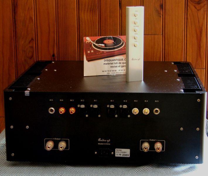 ampli audio gd master 10 classe a bernard billon. Black Bedroom Furniture Sets. Home Design Ideas