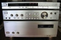 ensemble luxman M03 / CO3 / TO3  silver