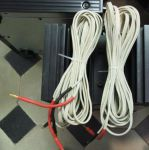 2 X 6.50m de cable the snowline  VAN DEN HULL